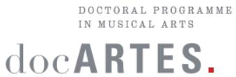 Logo docARTES Orpheus Institute