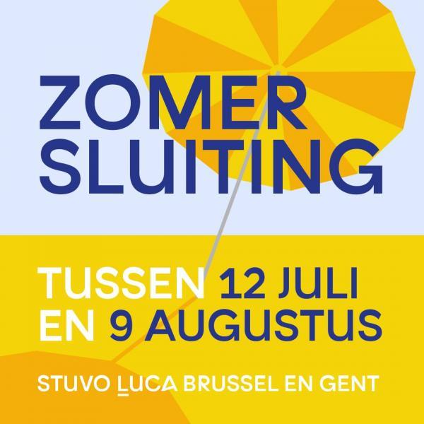 Zomersluiting Stuvo LUCA Brussel